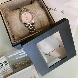 アニエスベー レディース腕時計 文字盤ピンクシェル
