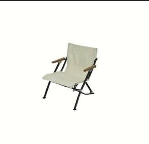 スノーピーク チェア L直径w Chair ロー ショート : アイボリー (LV-093IV) snow peak セット
