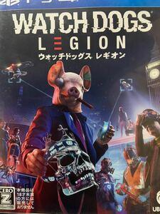 【PS4】 ウォッチドッグス レギオン 美品