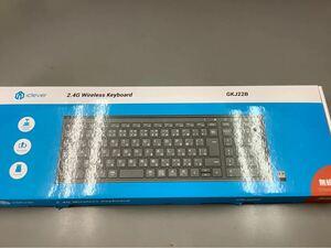 ワイヤレスキーボード GKJ22B iclever