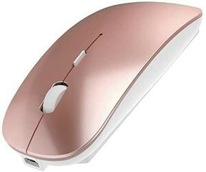 【新品未使用】ワイヤレスマウス 無線マウス 充電式 静音 薄型 Bluetooth
