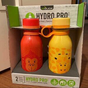 【新品】reduce HYDRO PRO 子供用 保冷専用 ステンレス 414ml×4本 ステンレスボトル 魔法瓶 コストコ