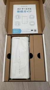 WiFi6対応最新版 Softbank Air ターミナル4 Plus B610h-71a Wi-Fi 6アクセスポイント化可能