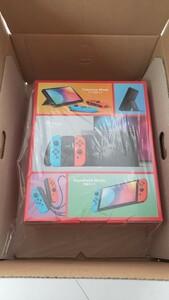 未開封納品書付き 任天堂 Nintendo Switch 有機ELモデル Joy-Con (L)ネオンブルー/(R) ネオンレッド
