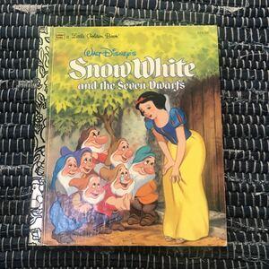 英語絵本 Disney Snow White and the Seven Dwarfs 白雪姫 絵本
