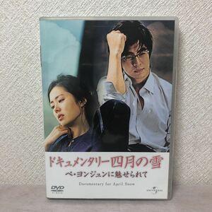 ドキュメンタリー四月の雪 ペ・ヨンジュンに魅せられて〈初回生産限定〉DVD