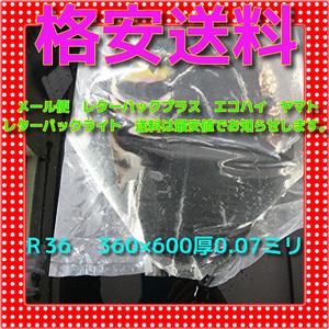 ★ R-36 40枚  丸底ビニール袋 パッキング袋 送料格安 領収書発行可 同梱まとめ買い送料激安 未使用