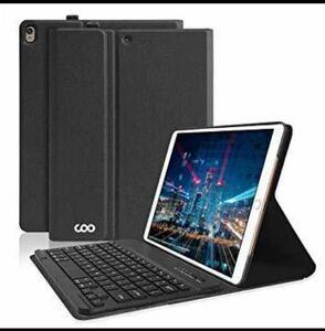 iPad Pro 10.5/Air3 第三世代(2019)用の キーボード ケース iPad Air 第三世代ケース Bluetoothキーボード 黒
