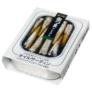 さんきん〓K&K 缶つま プレミアム 日本近海どり オイルサーディン 3缶