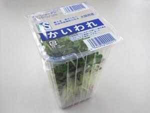 さんきん〓日常の一般野菜 かいわれだいこん 1パック