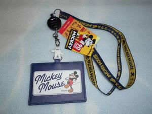 ディズニー ミッキーマウス IDカードケース niko and...