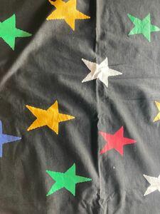 星柄 ニット 生地 85×90cm