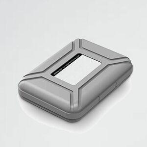 好評 新品 3.5インチ Yottamaster T-FF 書き込みラベル付き グレ-[B4-GY] ポ-タブル ハ-ドディスク専用 保護収納ケ-ス