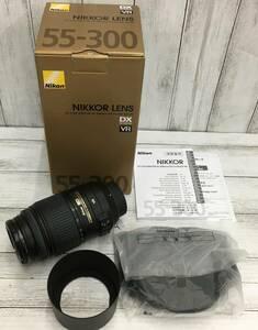 □ジャンク NIKON ニコン AF-S DX NIKKOR 55-300mm F4.5-5.6 G ED VR
