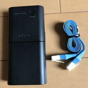 バッファロー モバイルルーター Wi-Fi WMR-300 AOSSで簡単設定