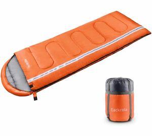 寝袋 封筒型 シュラフ アウトドア 防災 寝袋 軽量 210T防水 快適温度5℃~15℃ 1.1kg