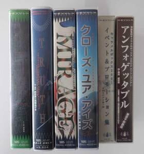 [中古VHS] 演劇集団キャラメルボックス 公演他VHS 6本セット