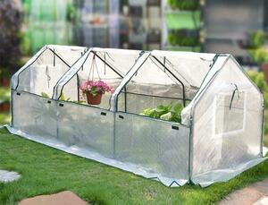 家庭用 PE素材 ビニールハウス 温室 簡易温室 ビニール温室 菜園ハウス グリーンハウス スチールパイプ ガーデニング 育苗 小型 寒冷対策