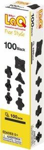 【全国送料無料】ブラック ラキュー (LaQ) フリースタイル(FreeStyle) 100ブラック