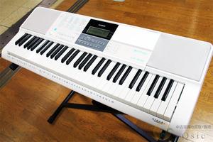 [極美品] CASIO LK-516 大人のためのらくらくキーボード/多彩な楽曲を搭載し楽しく演奏できます! 2018年製 [VH657]