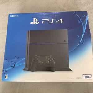 PlayStation4 ジェットブラック プレイステーション4 ソニー PS4本体 初期化済 動作確認済 美品