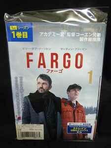 xs581 レンタル版▽DVD FARGO/ファーゴ 全5巻 ※ケース無