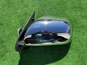 Toyota Hiace left door mirror plating 200 series original cheap used beautiful goods