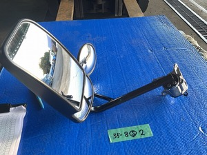 日野デュトロ ダイナ 純正ミラー 左 標準キャビン 中古 35-8 2ピン R3以降用