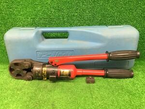 中古品 泉精機 IZUMI イズミ 手動 油圧式 圧着工具 油圧ヘッド 分離式 工具 9H-2 オスダイス 1個付