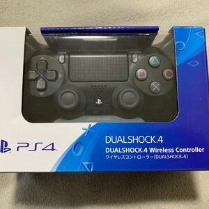 【新品未使用】PS4 DUALSHOCK4 ジェットブラック