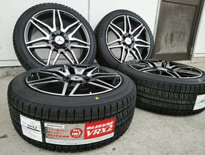 ブリヂストン VR-X2 225/40R18 スタッドレス ベンツ Aクラス Bクラス W246 Cクラス W204 18インチ 新品タイヤホイールセット
