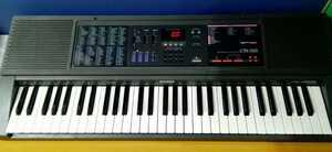 g_t A531 CASIO 電子ピアノ・キーボード【CTK-550】40曲SongBank KEYBOARD 動作品 現状品 カシオ