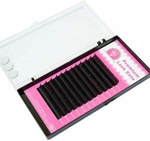 D 0.10 8mm PLATINA LASH セーブルまつげエクステ Dカール 0.10太さ 8mm シングル(長さ指定) 1