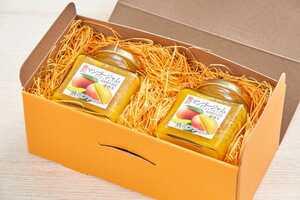 沖縄県産アップルマンゴージャム ★自家農園で栽培したマンゴーを贅沢に使った無添加マンゴージャム 190g×2 ★送料込み