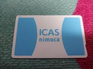 【函館限定】函館市電・バス「ICAS nimoca イカスニモカ」通常版未使用チャージありSuica ICOCA PASMO等全国相互利用可領収書付き