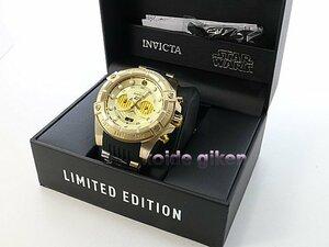 インビクタ 腕時計 クロノグラフ 26067 特別限定品 C3PO仕様 スターウォーズシリーズ STARWARS