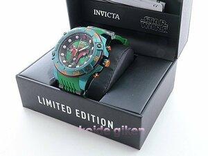 インビクタ 腕時計 クロノグラフ 26543 特別限定品 ボバ フェット仕様 スターウォーズシリーズ STARWARS