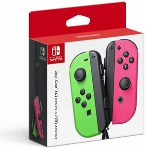 Nintendo Switch Joy-Con (L) ネオングリーン ネオンピンク ニンテンドースイッチ ジョイコン