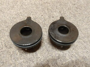 リンナイバーナーキャップ 強火(黒) 部品コード151-405-000 標準(黒) 部品コード151-406-000●A60-15