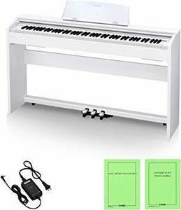 新品ホワイトウッド調 カシオ CASIO 88鍵盤 電子 ピアノ Privia PX-770WE ホワイトウッド調QP50