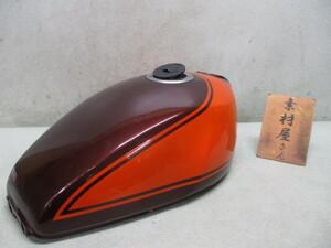 1★ゼファー400系タンク219 純正.χ.カイ.大凹みなし.ZR400C