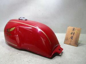 8★GB250クラブマン用タンク510 純正.MC10.赤.凹み小さめ.検)2型.1型.初期型.3型