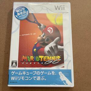 マリオテニスGC Wii
