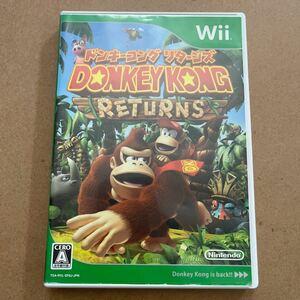 ドンキーコングリターンズ Wiiソフト DONKEY KONG