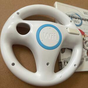 マリオカートWii Wiiハンドル付き