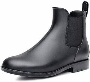 限定価格! ブラック 25.5 cm 2.5E [Bravell] レインシューズ 晴雨兼用 レディース レインブーツ シX7QX