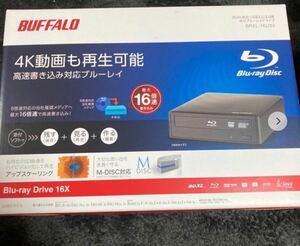 BUFFALO 16倍速書き込み BDXL対応 外付ブルーレイドライブ