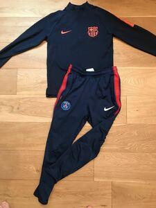 Nike ナイキ ジュニア トラックスーツ 140 DRI-FIT 上下セット サッカー