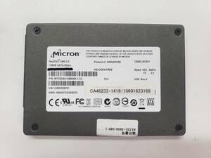 ■送料無料■【SSD128GB】 ★Micron★(管:CW-MC-526761)■MTFDDAK128MAM-1J12■2.5インチ 6Gb/sフォーマット済み