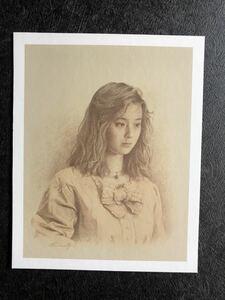 【森本草介の複製写実画(印刷)】 少女